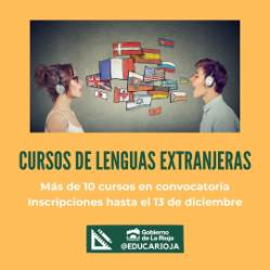 CURSOS LENGUAS EXTRANJERAS