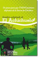 folleto sendero adaptado achichuelo